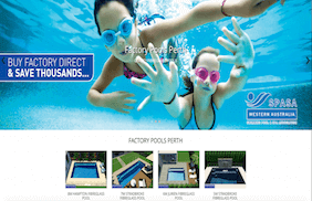 Factory Pools Website